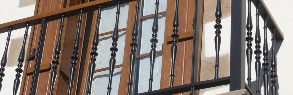 Ventanas de aluminio en navarra guipuzcoa gipuzkoa - Barandillas de aluminio ...